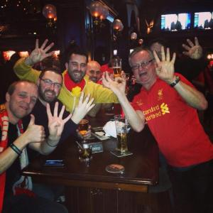 LFC Vancouver after Liverpool 4-0 Everton